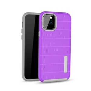Hybrid case for iPhone 11 models - Purple